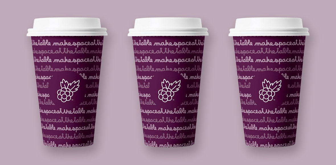 Blackberry Market Cups
