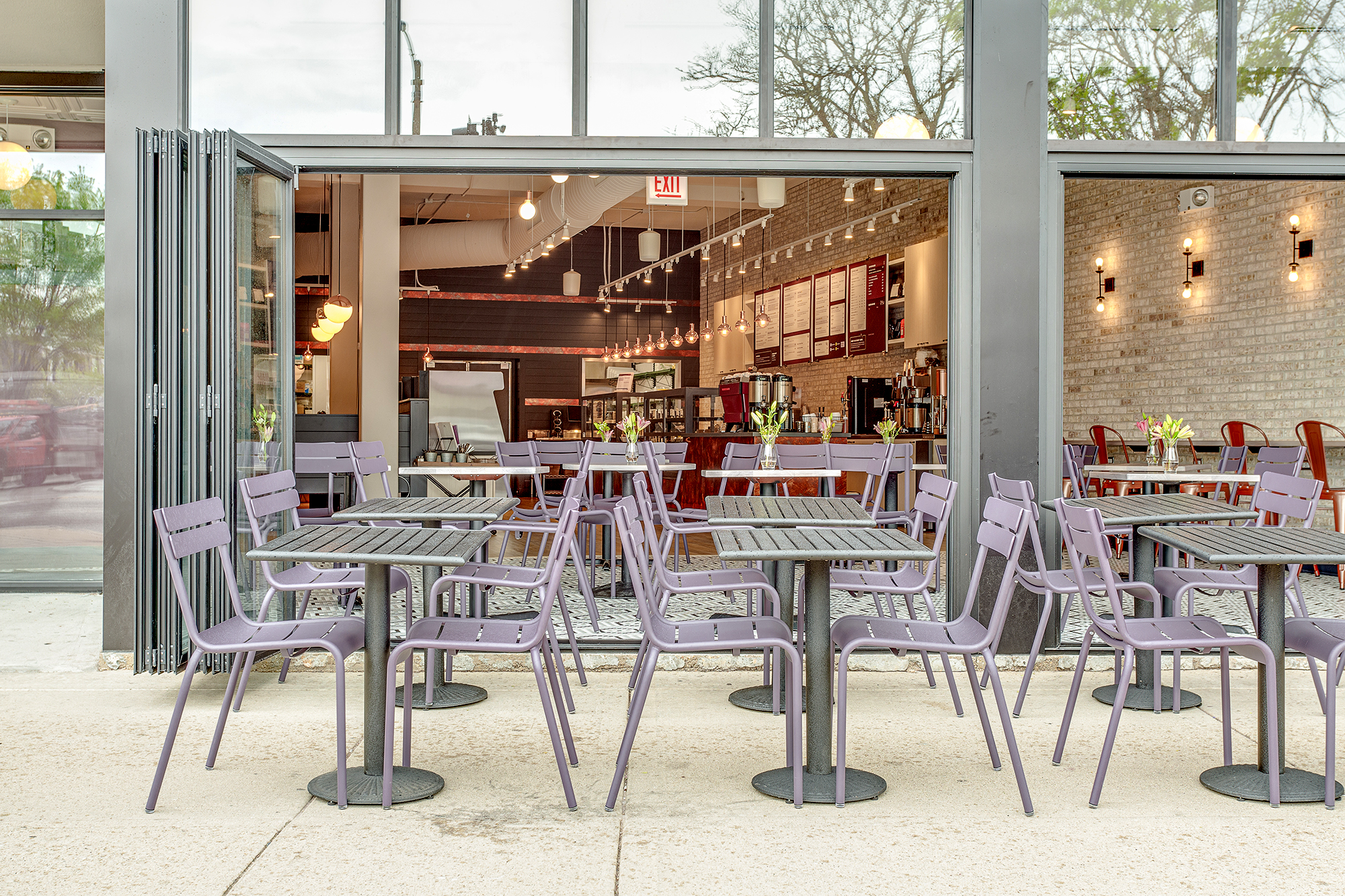 Blackberry Market Exterior Seating