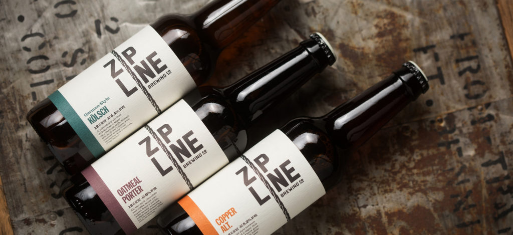 Zipline Bottle Design
