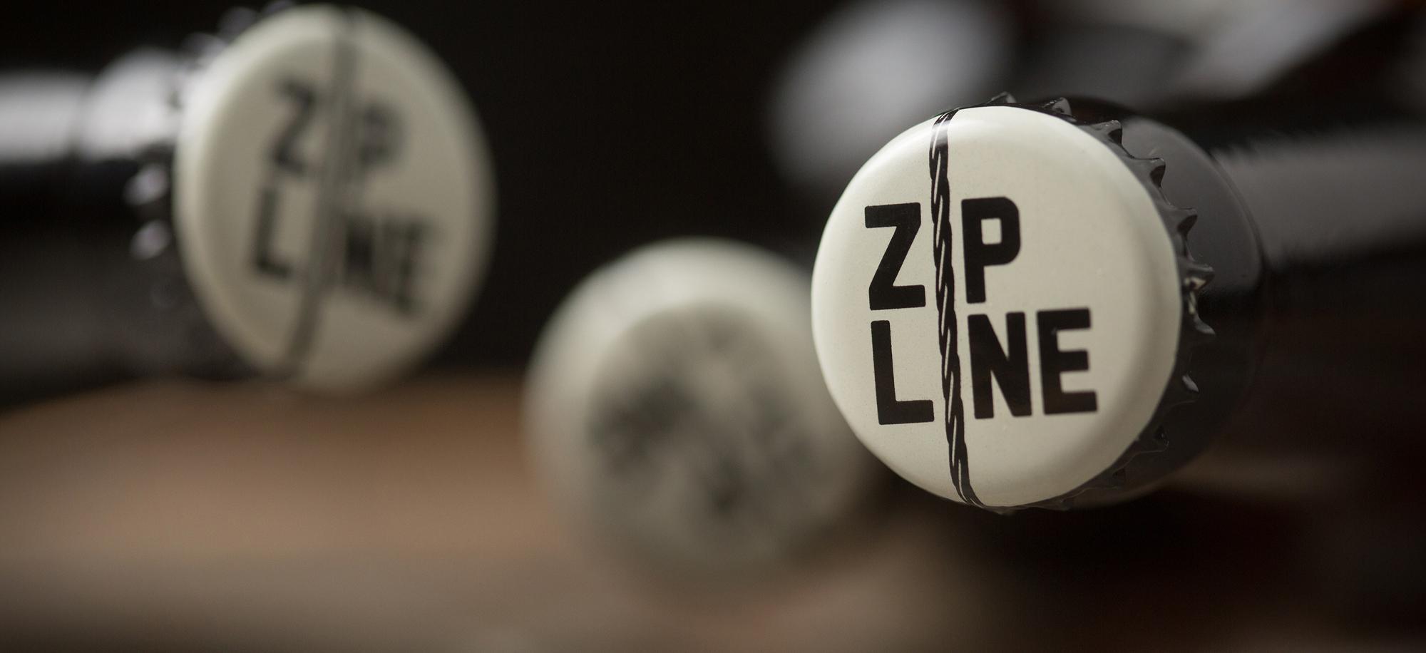 Zipline Bottle Cap Design