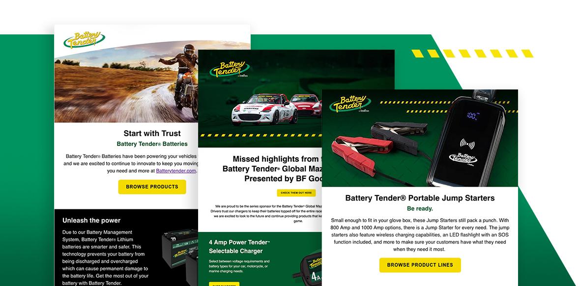 Battery Tender HTML