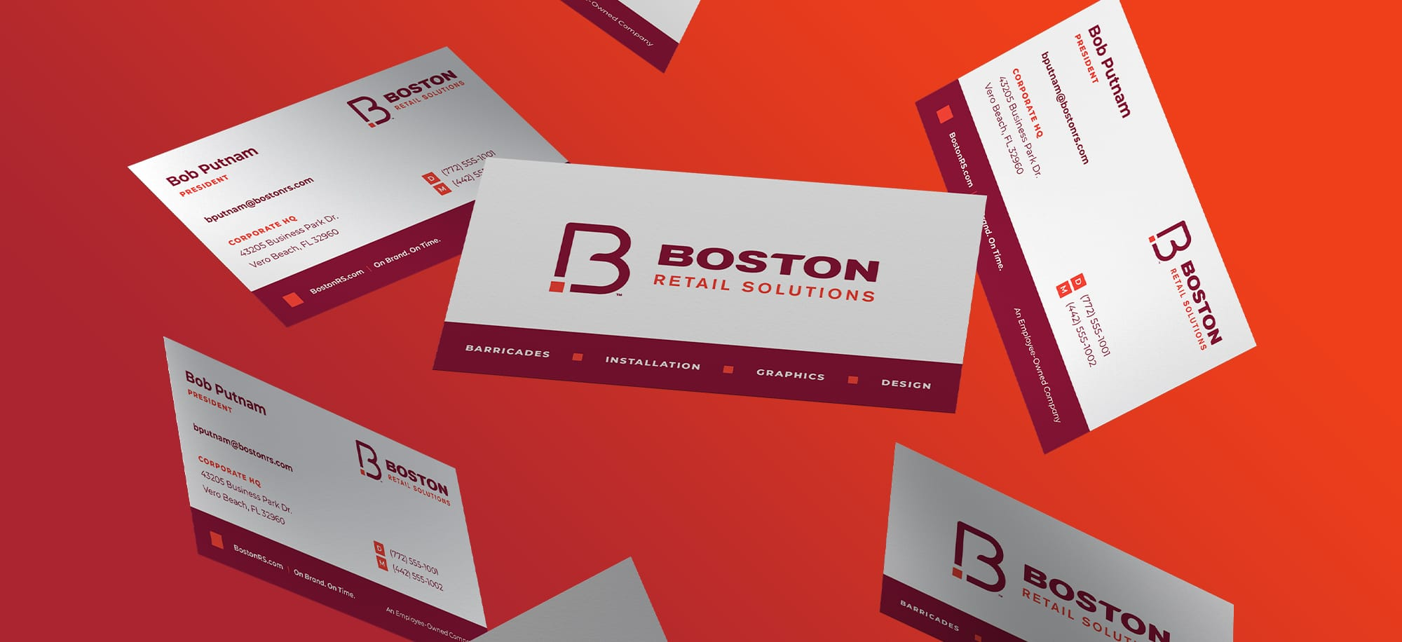 Boston Retail Solutions Business Cards