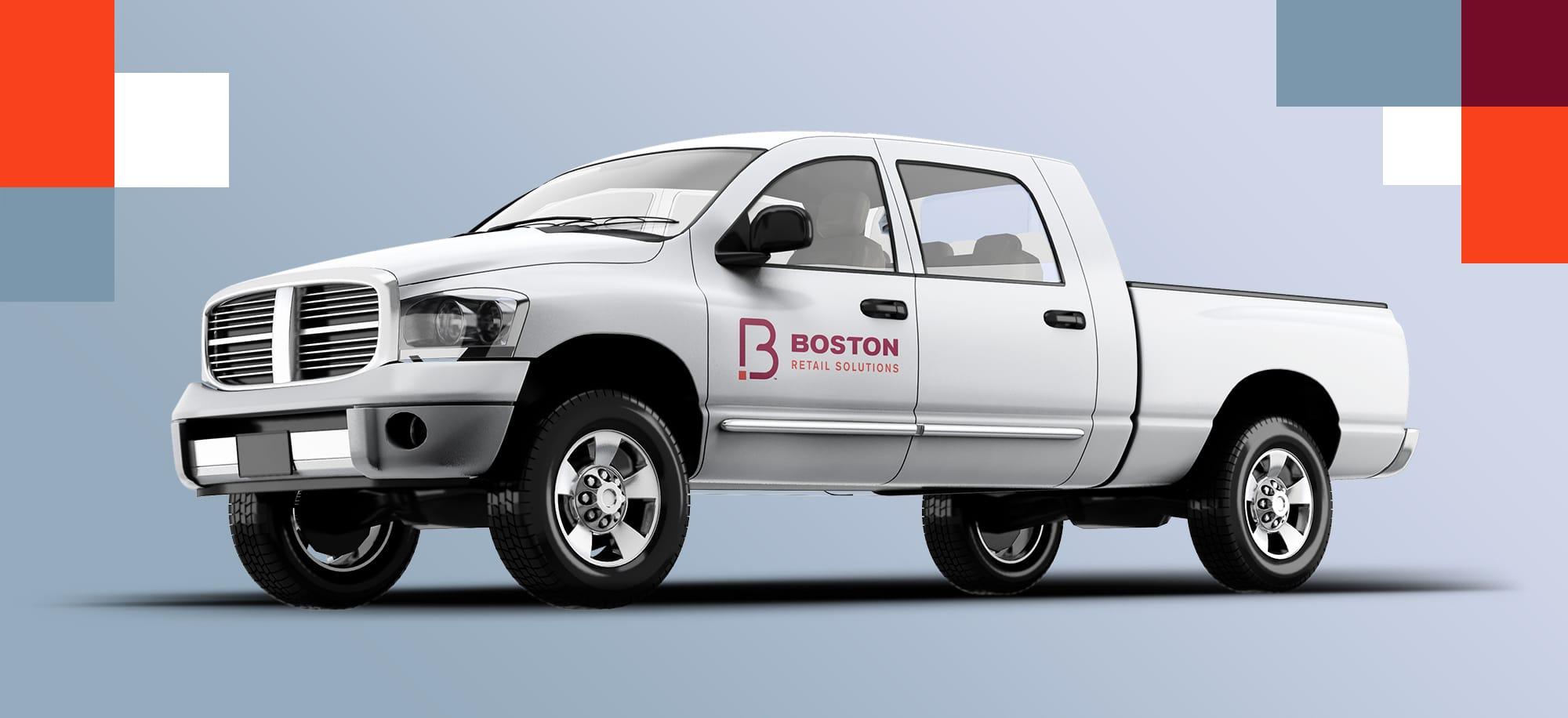 Boston Retail Solutions Truck