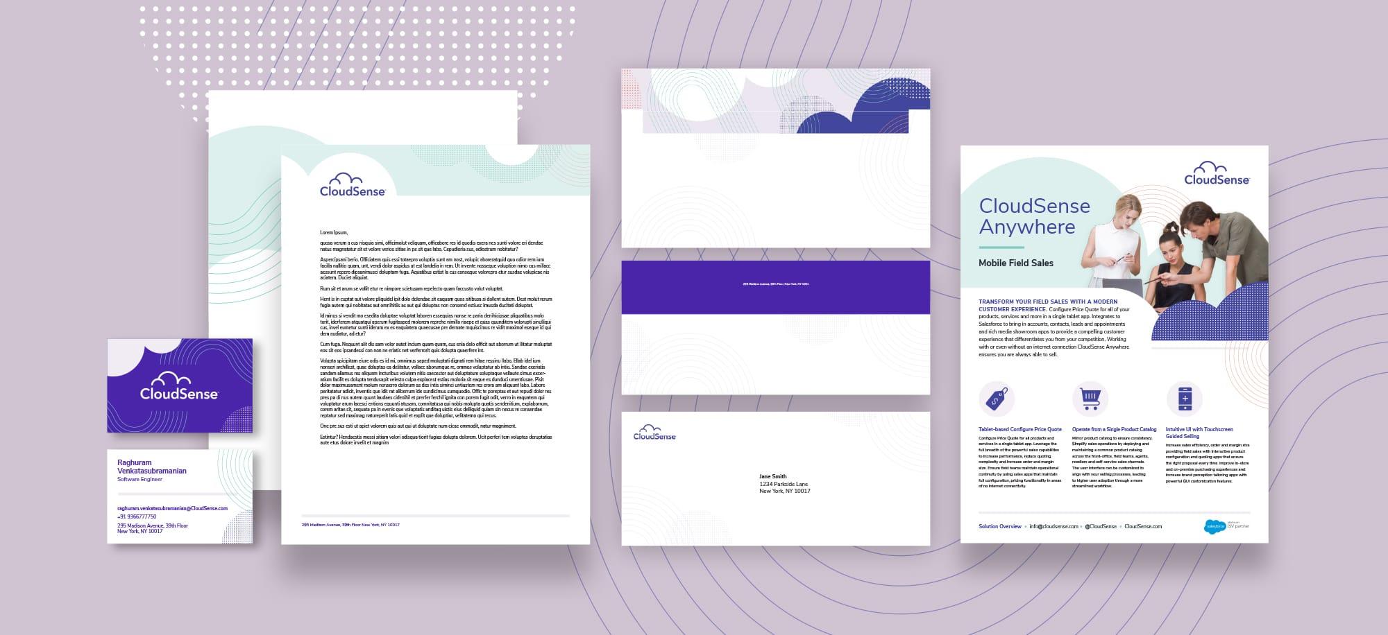 Cloud Sense Letterhead
