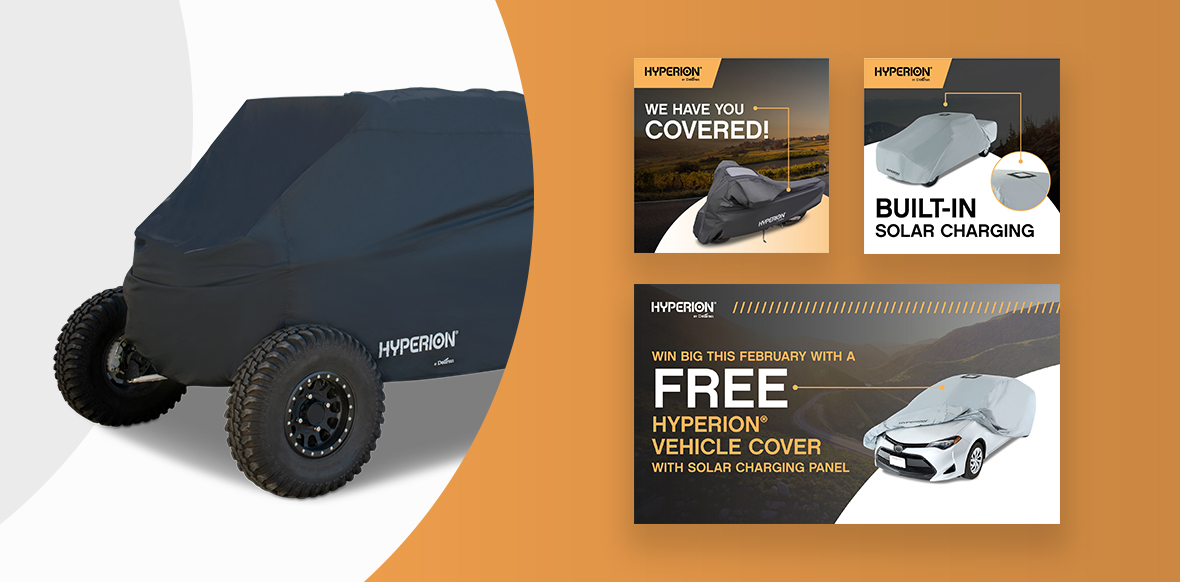 Hyperion Solar Cover Monthly Campaign