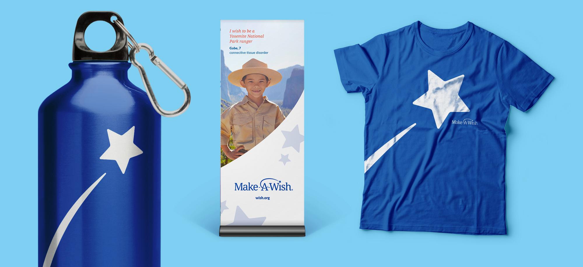 Make-a-Wish Stand up Banner Design