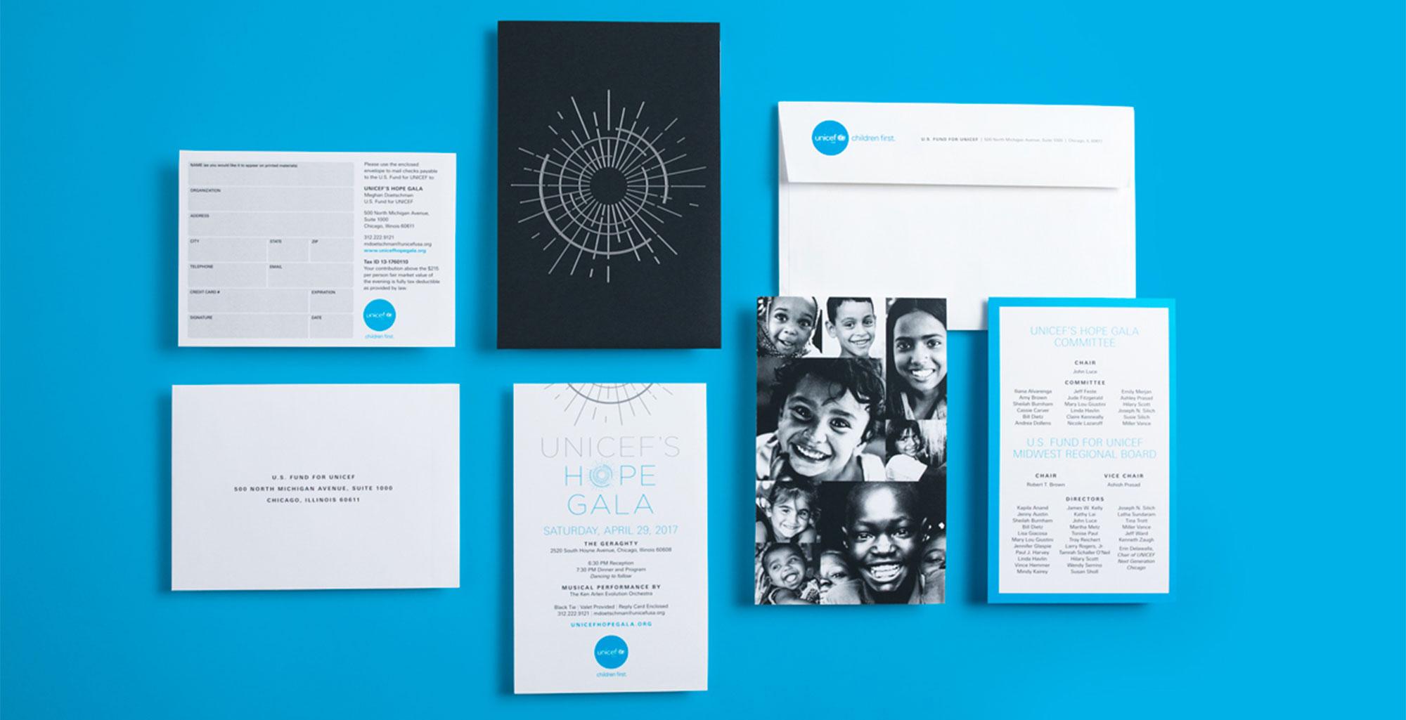 UNICEF Stationary