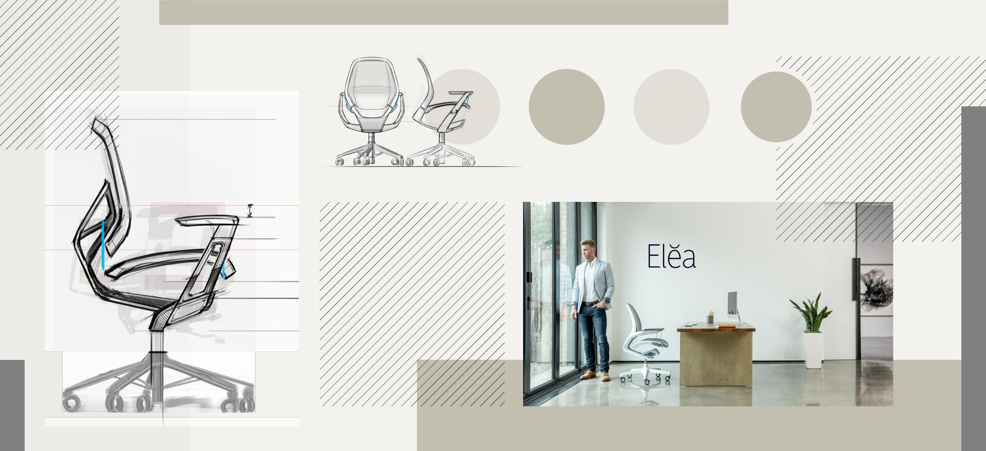 Elea Style Board Mockup