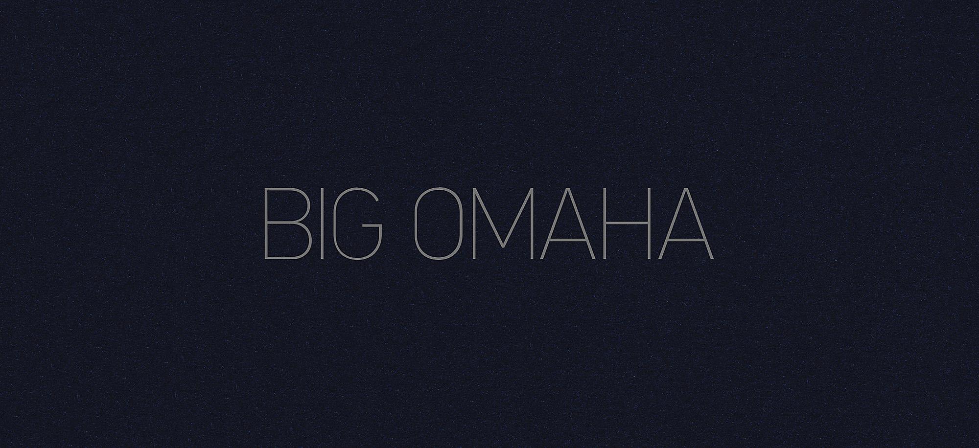 Big Omaha Logo, Year Three
