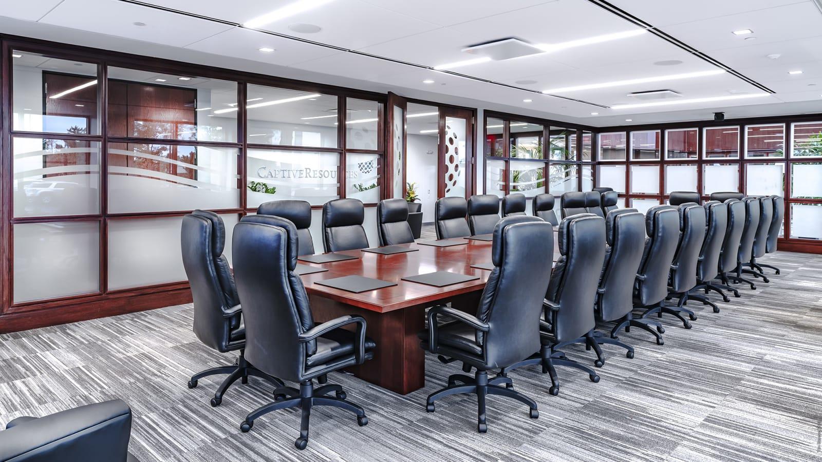 Captive Resources Boardroom