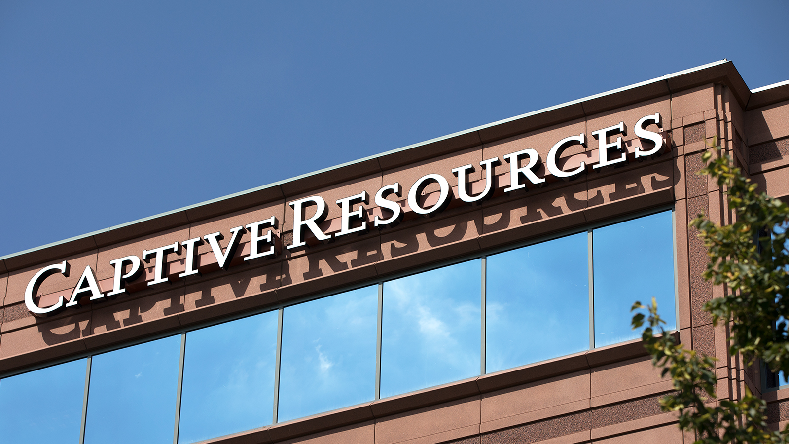 Exterior of Captive Resources Building