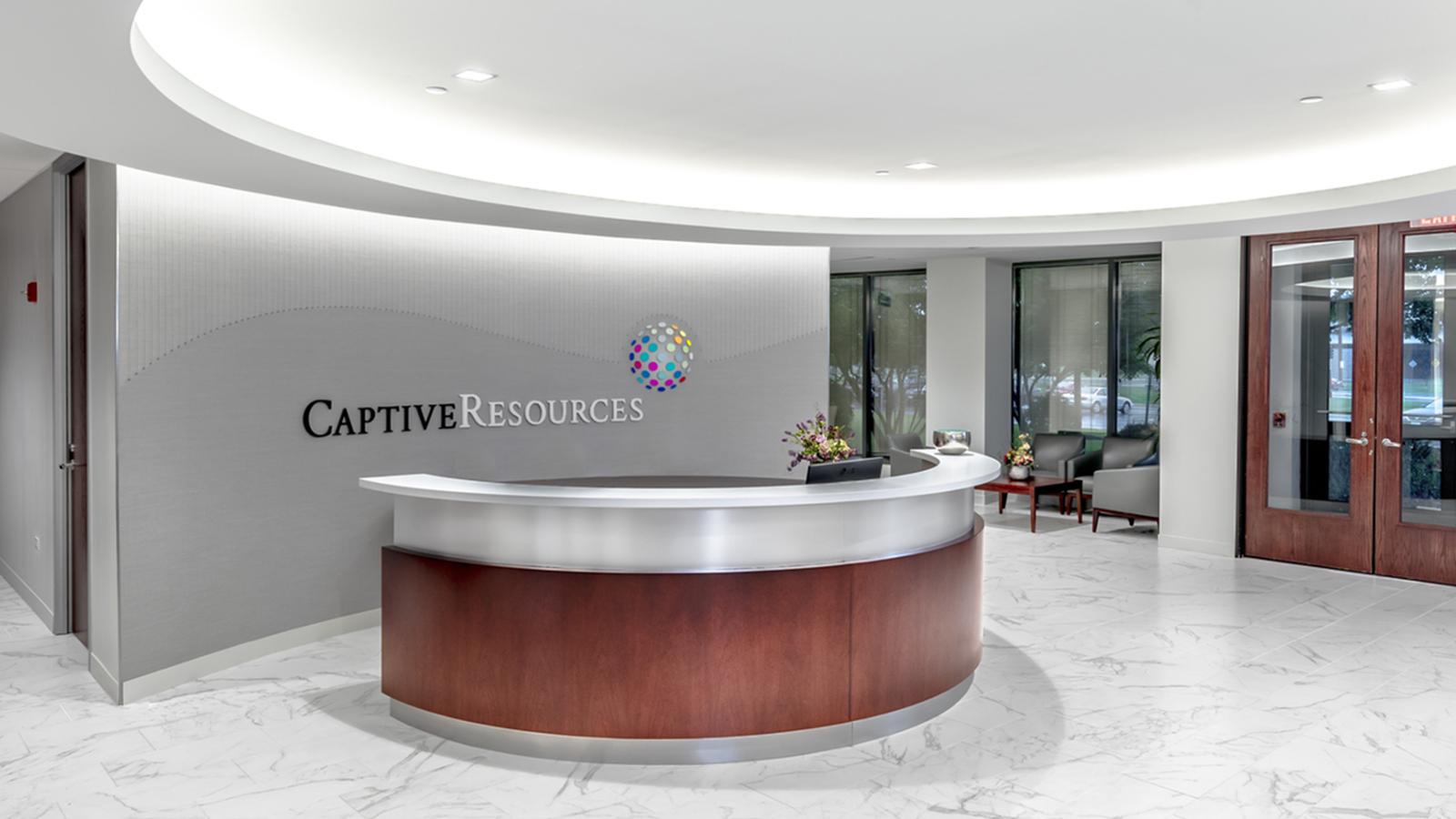 Captive Resources Reception Area