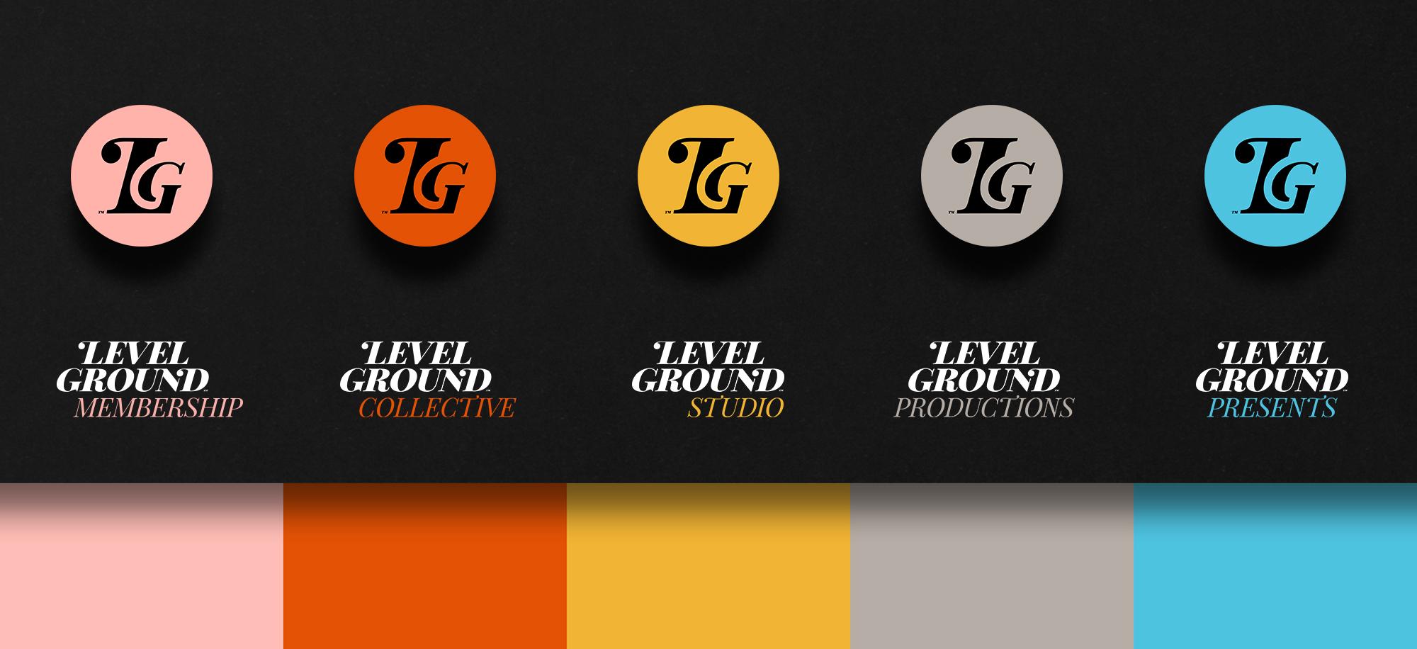 Level Ground Icon Designs