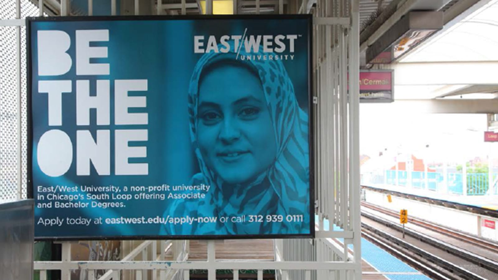 East West Transit Billboard Mockup