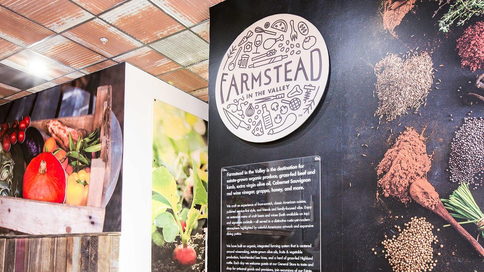 Farmstead Logo Wall