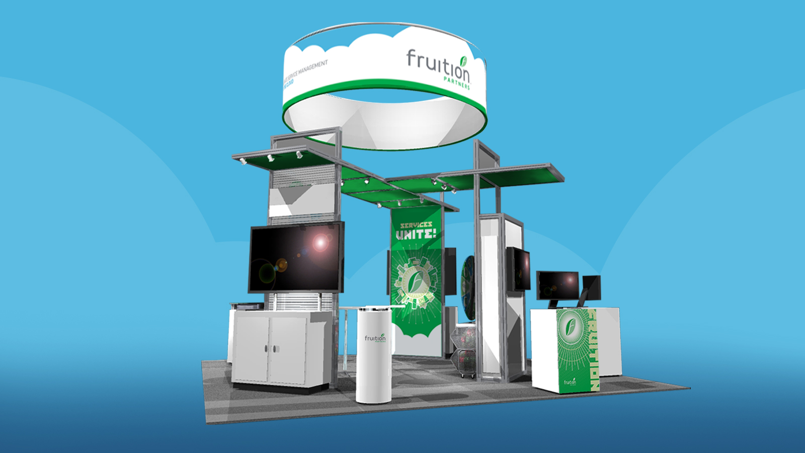 Fruition Booth Mockup