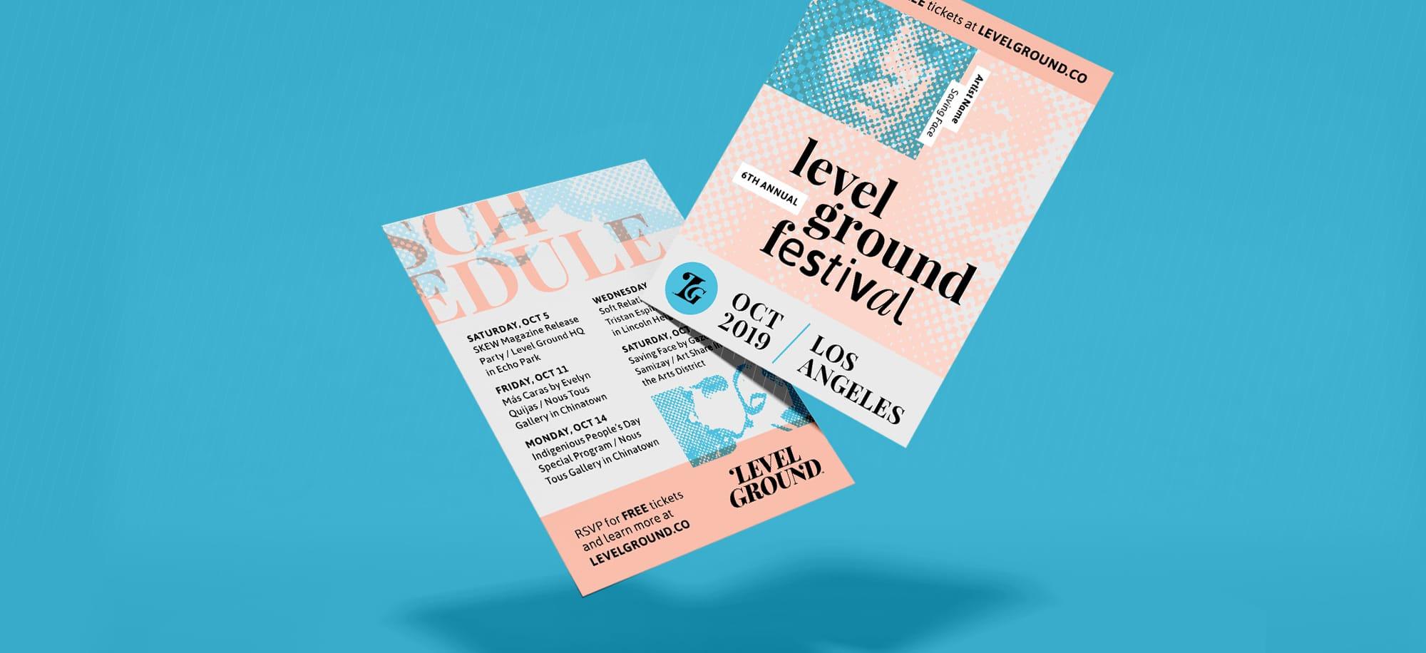 Level Ground Flyer Handout