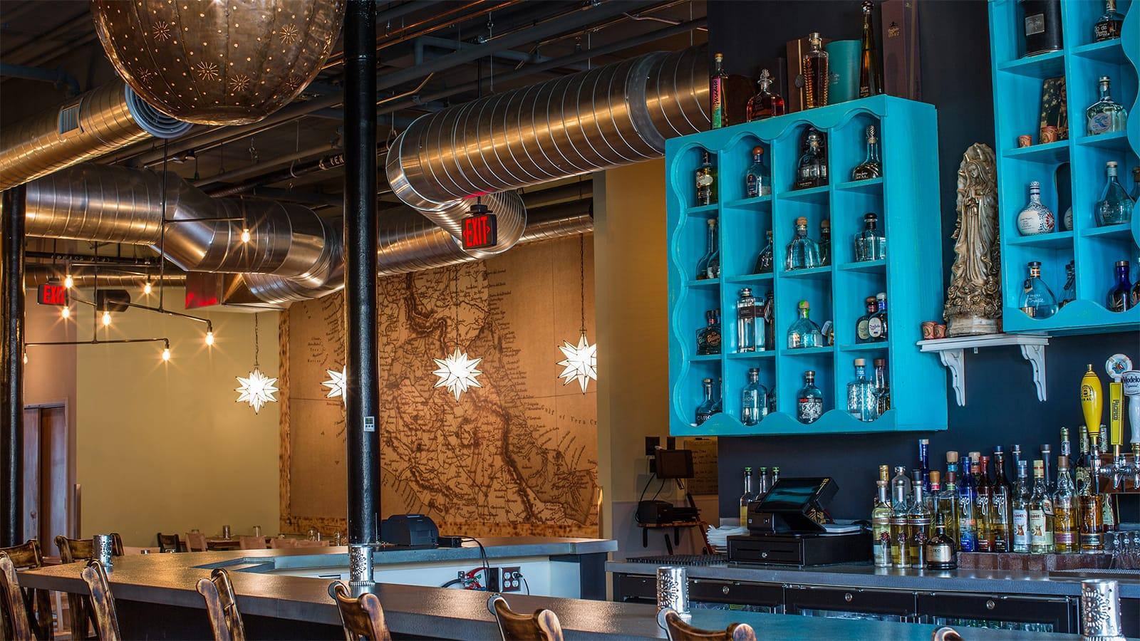 Mula Interior Bar Wall