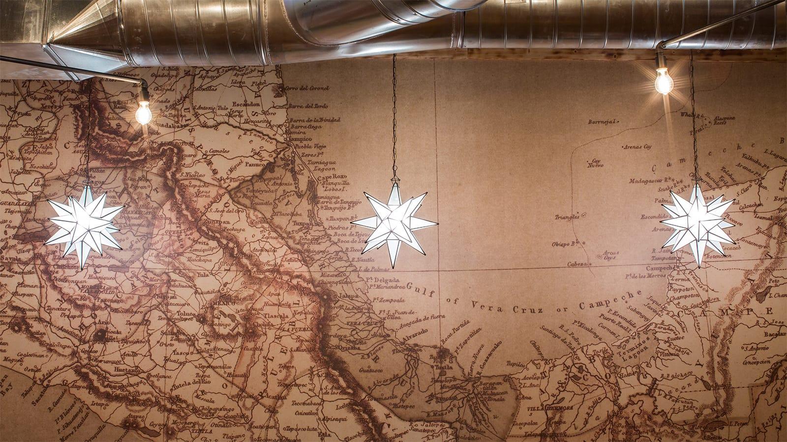 Mula Map Wall