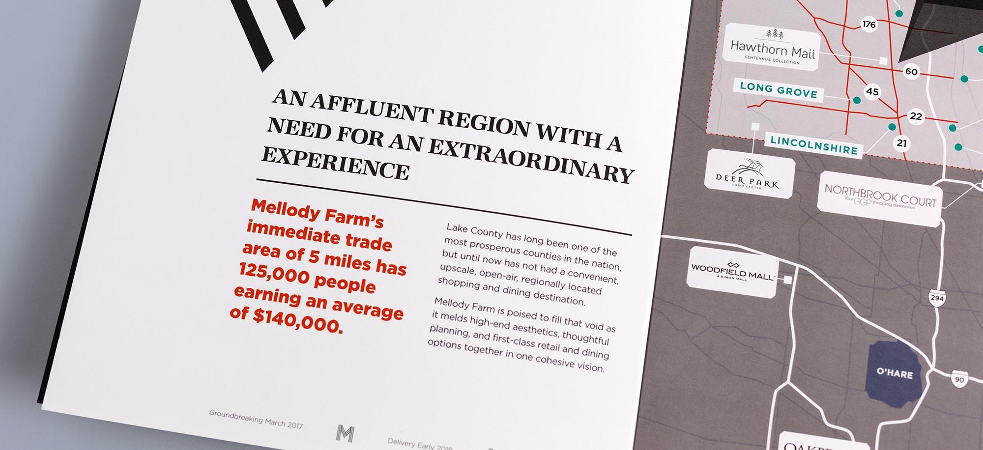 Closeup of Mellody Farms Print Ad