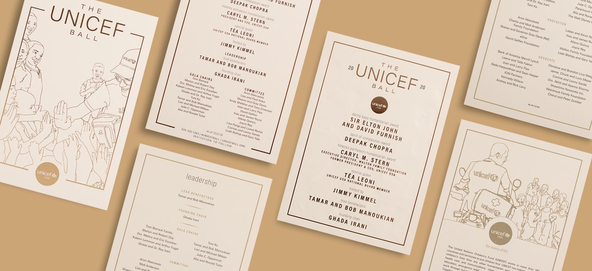 UNICEF Invite