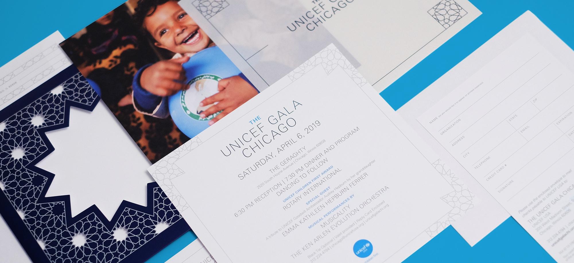 UNICEF Chicago Invite